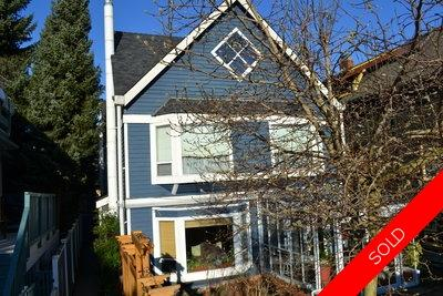 Kitsilano Half Duplex for sale:  3 bedroom 1,744 sq.ft. (Listed 2012-02-01)